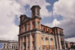 widoki z Karlskrony: najbardziej charakterystyczny kościół w mieście