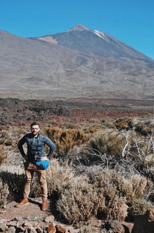 w tle Teide