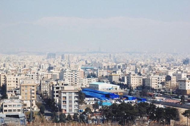 Teheran - betonowa dżungla