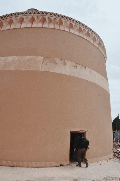wieża gołębi w Meybod | fot. Magdalena Garbacz - Wesołowska