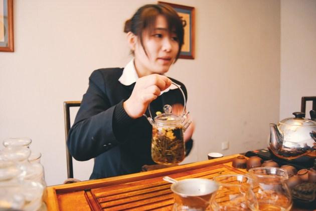 w muzeum herbaty