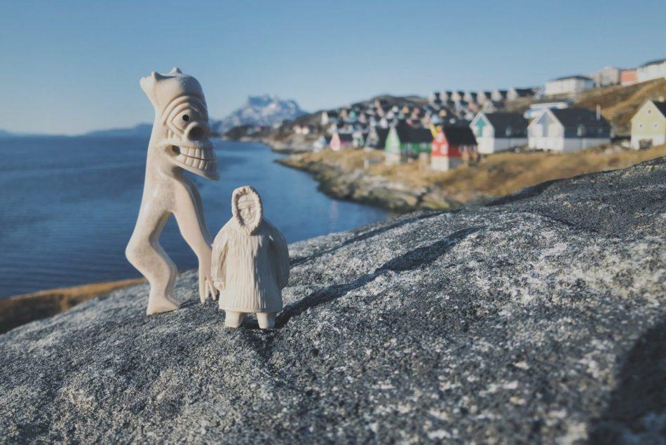 Tupilak Nuuk Grenlandia