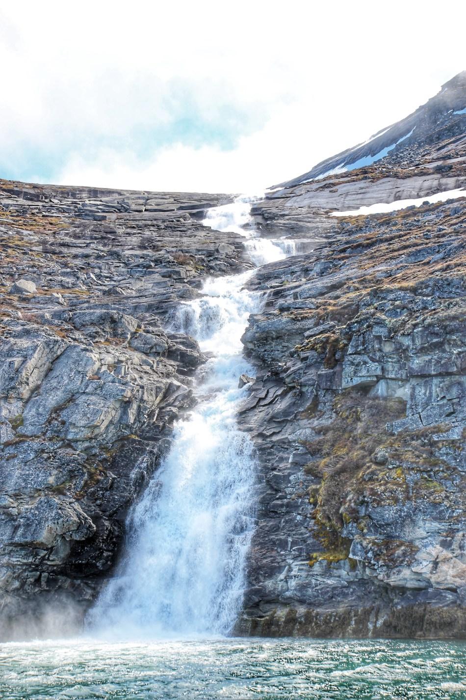 Woda z lodowca Grenlandia8