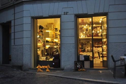 sklepik w Bergamo