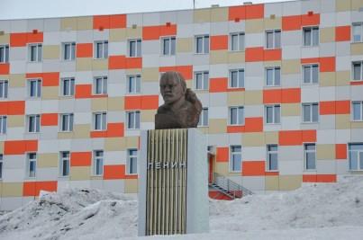 Lenin w Barentsburgu