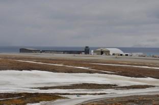 lotnisko Svalbard