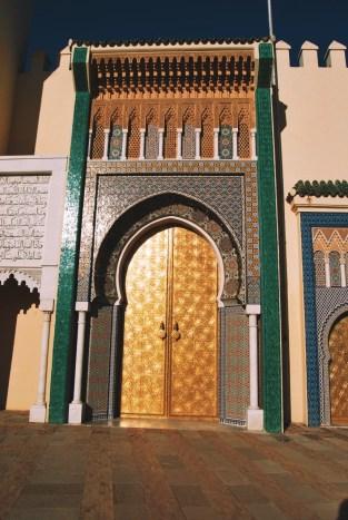 bramy pałacu królewskiego