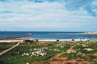 cmentarz nad oceanem