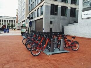 rowery miejskie w Waszyngtonie