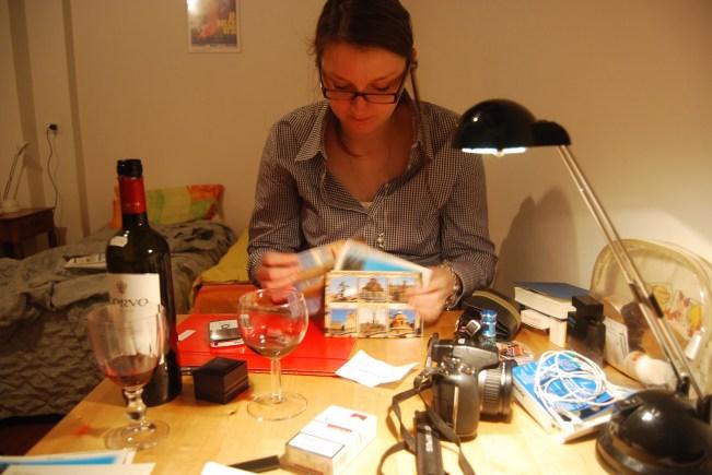 wino, czyli bolońskie wieczory