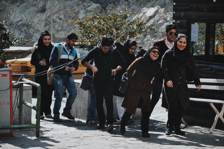 młodzi Teherańczycy   zdjęcie Magdalena Garbacz-Wesołowska