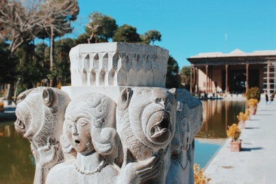 kompleks pałacowy Chehel Sotoon