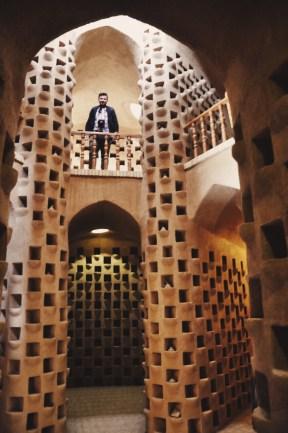 wieża gołębi w Meybod | fot Magdalena GW