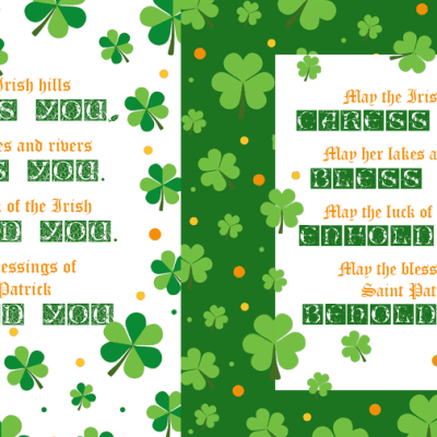 Free Printable Downloadable St. Patrick's Day Saying