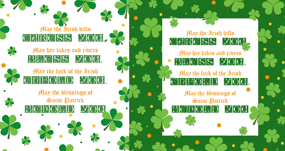 AN IRISH SAYING: A FREE PRINTABLE GIFT FOR YOU