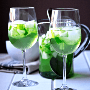 Apple and Green Pear Sangria Recipe for St. Patrick's Day