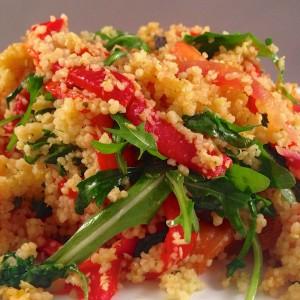 Couscous met gegrilde paprika's 3