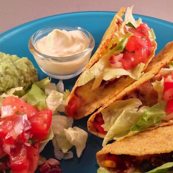 Frisse mexicaanse taco's 1