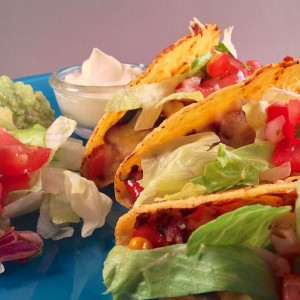 Frisse mexicaanse taco's 5