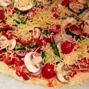 Huisgemaakte pizza 1