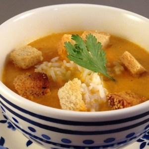 Oranje soep