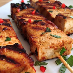 Lekkere Tofu-spiesjes