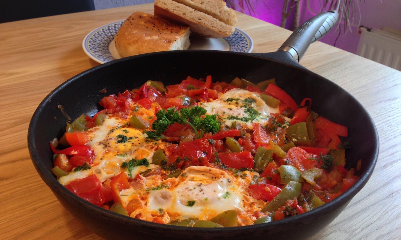 Chakchouka heerlijk groentegerecht uit de mediterrane keuken