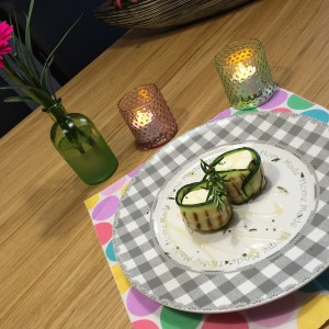 courgetterolletjes-geitenkaas1