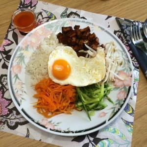 Koreaanse bibimbap3