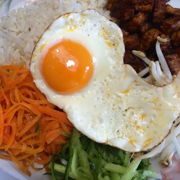Koreaanse bibimbap5