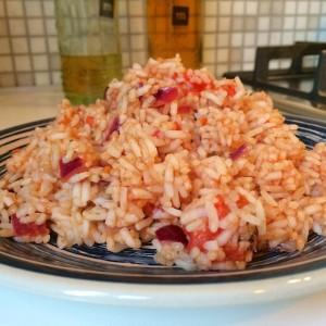 Griekse tomaten rijst3