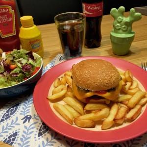 vegetarische cheeseburger3