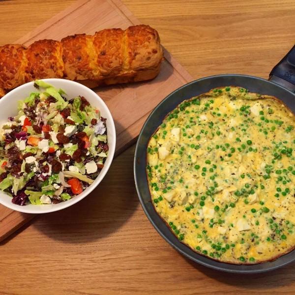 Omelet-doperwten5