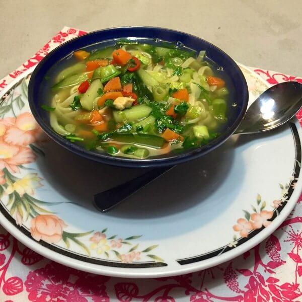 Vietnamese-noedelsoep 4