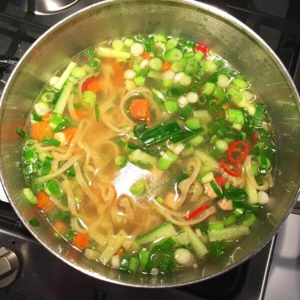 Vietnamese-noedelsoep 5