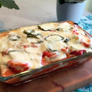 lasagne zonder pasta en vlees