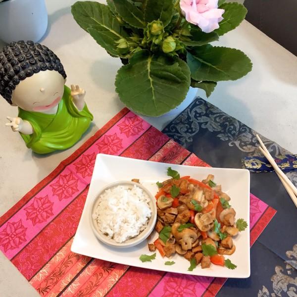 this curry met champignons