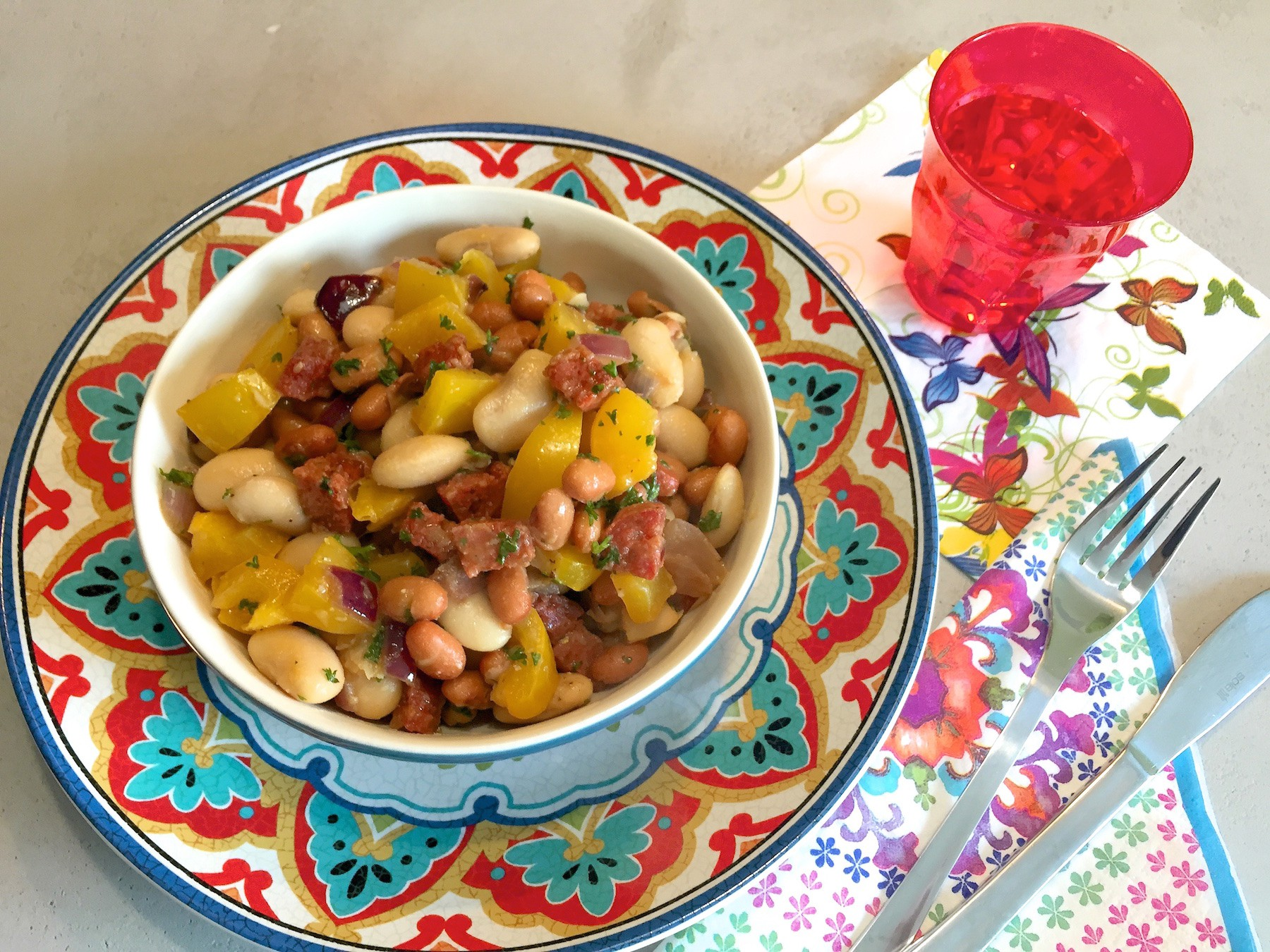 Bekend Spaanse bonen salade (BBQ tip!) #TD38
