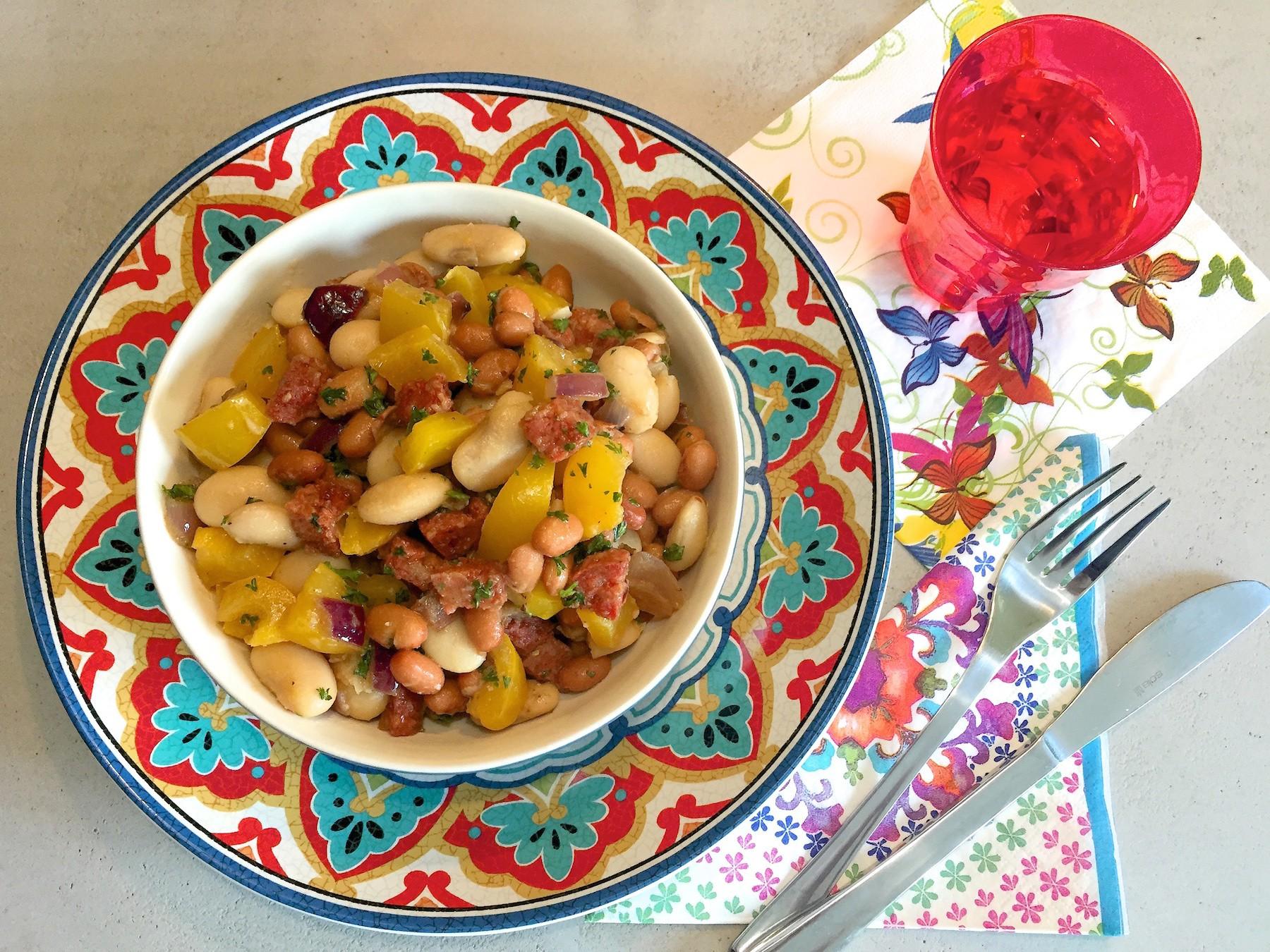 Favoriete Spaanse bonen salade (BBQ tip!) &RA54