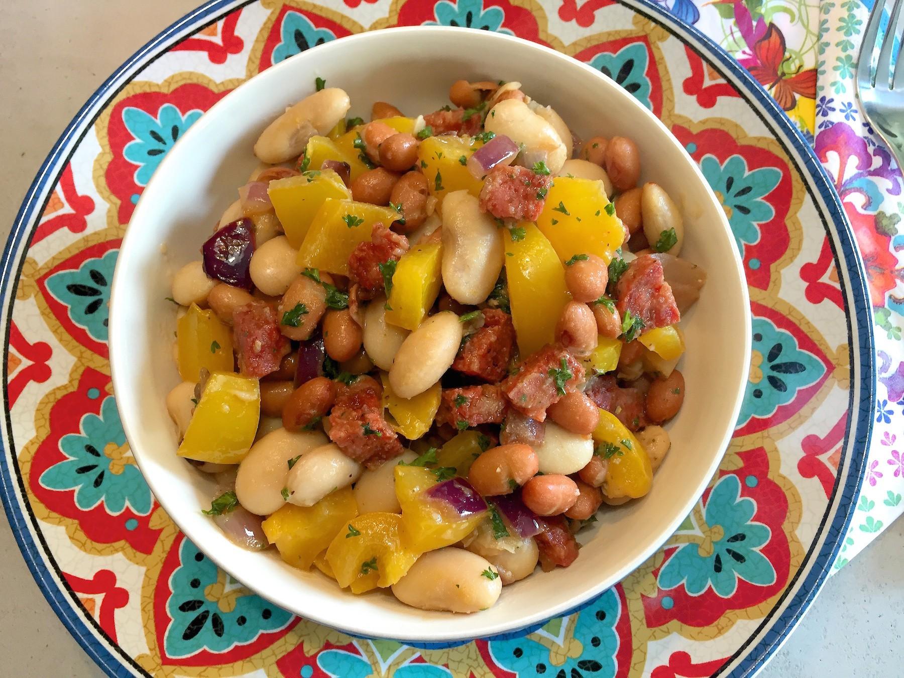 Fabulous Spaanse bonen salade (BBQ tip!) @KB53