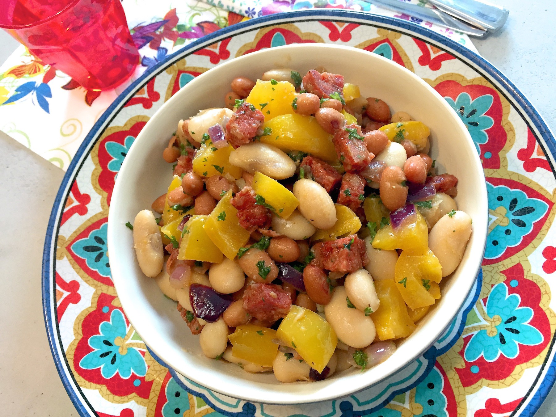 Super Spaanse bonen salade (BBQ tip!) @NY18