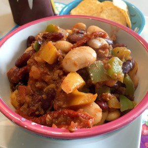 Zomerse Mexicaanse chili