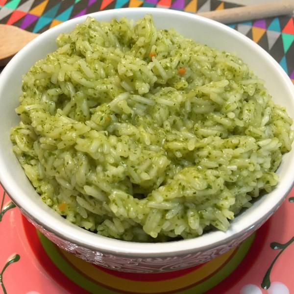 groene rijst voorbeeld