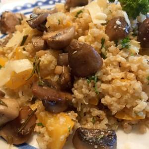 resultaat quinoa risotto
