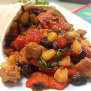vegetarische Mexicaanse cones