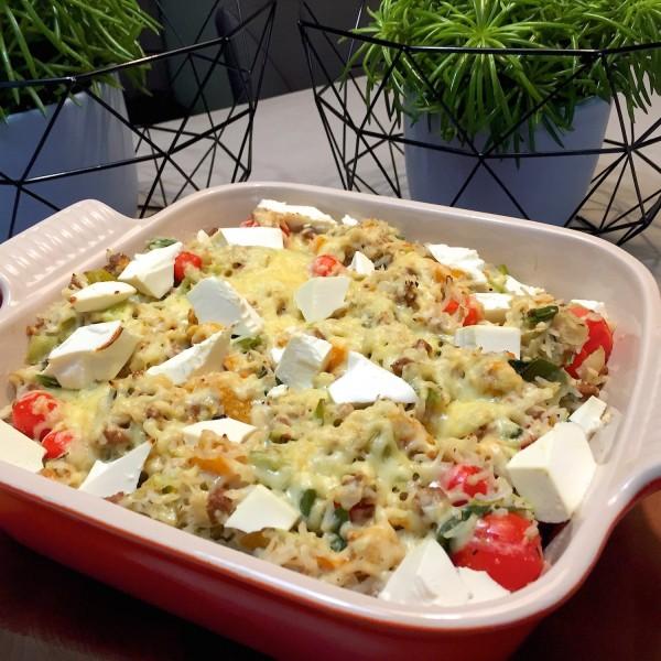 Ovenschotel met rijst