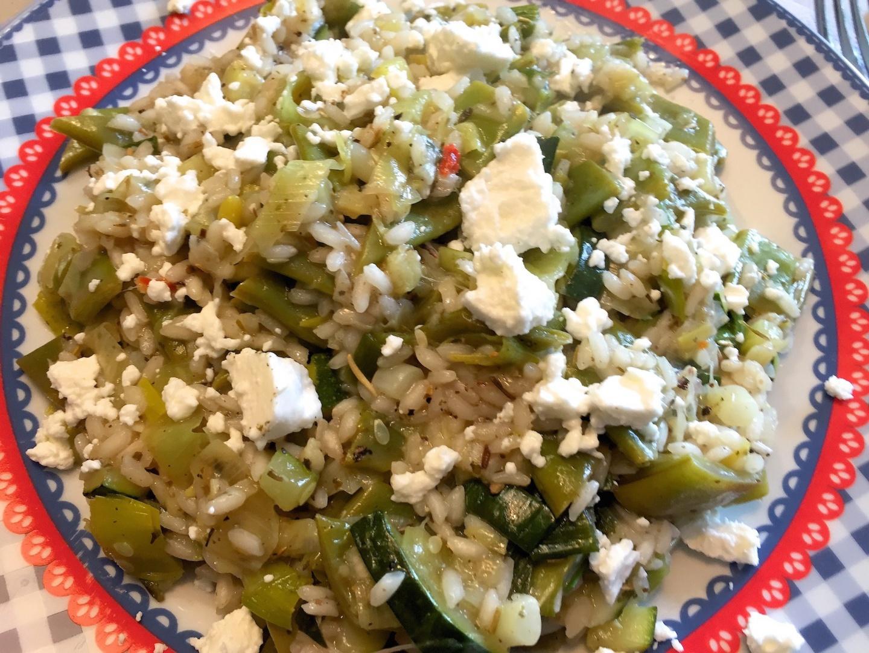 voorbeeld groene risotto