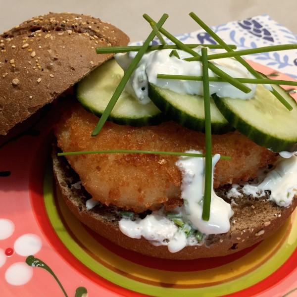 makkelijke visburger