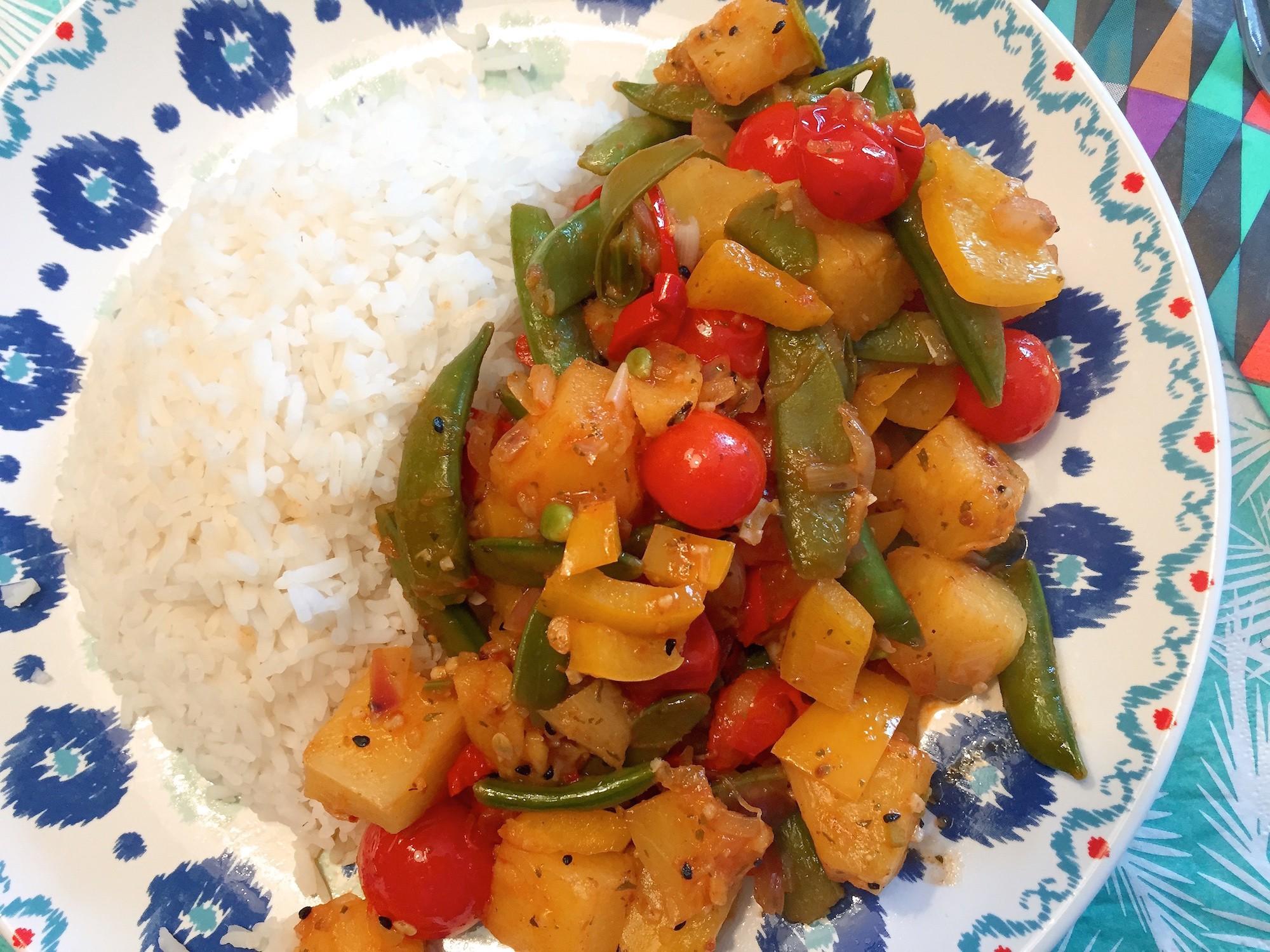 indiaas groentegerecht