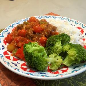 Vegetarische goulash 4